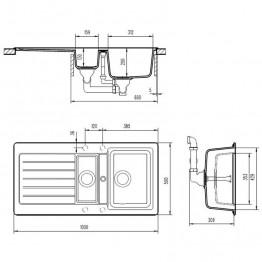 SCHOCK Sudoper TYPOS D-150