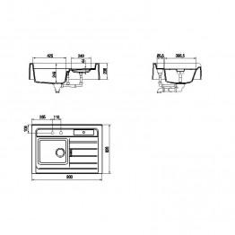 SCHOCK Sudoper GRANDO M-100