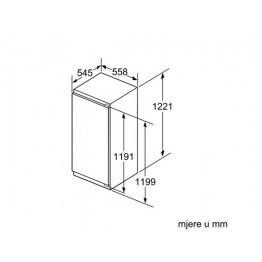 BOSCH Ugradbeni kombinirani hladnjak KIL42AF30