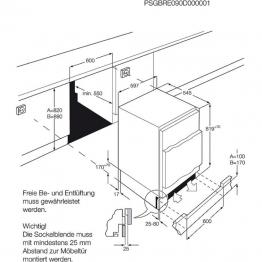 AEG Ugradbeni hladnjak SFB58211AF