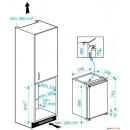 BEKO Ugradbeni kombinirani hladnjak B1752HCA+