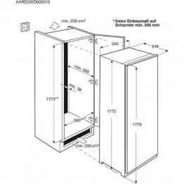 ELECTROLUX Ugradbeni hladnjak ERN3211AOW