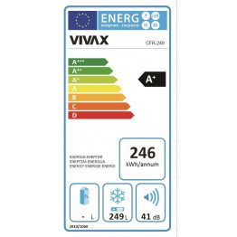 VIVAX Ledenica CFR-249H
